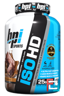 ISO HD, Isolate & Whey Protein, BPI Sports, 5.01 lbs, 2277 g