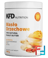 Peanut Butter Smooth 100%, KFD, 1000 g