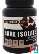Bare Isolate, Whey Pure Protein Isolate, Chocolate, Eat the Bear, 2 lbs (908 g)