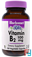 Vitamin B-6, 50 mg, Bluebonnet Nutrition, 90 Veggie Caps