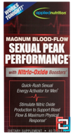 Magnum Blood-Flow Sexual Peak Peformance, Irwin Naturals, 40 Tablets