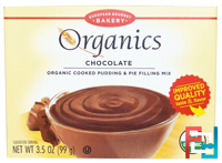 Cooked Pudding & Pie Filling Mix, Chocolate, European Gourmet Bakery, Organics, 3.5 oz (99 g)
