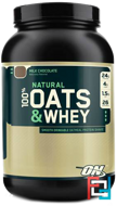 Natural 100% Oats & Whey, Optimum Nutrition, 3.0 lb, 1369 g