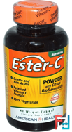 Ester-C, Powder with Citrus Bioflavonoids, American Health, 4 oz, 113.4 g