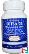 DHEA-25, Enzymatic Therapy, 60 Veggie Caps