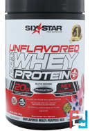 Elite Series, 100% Whey Protein Plus, Unflavored, Six Star, 2.00 lbs (907 g)