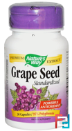 Grape Seed, Standardized, Nature's Way, 30 Capsules