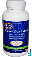 Cherry Fruit Extract, Joint Health, Enzymatic Therapy, 180 Capsules