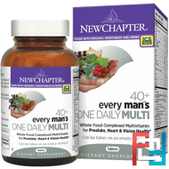 40+ Every Man's One Daily Multi, New Chapter, 96 Tablets