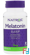 Melatonin, Natrol, 3 mg, 120 Tablets