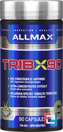 TribX90, 100% Pure Tribulus Terrestris 2X Potency, ALLMAX Nutrition, 750 mg, 90 Capsules