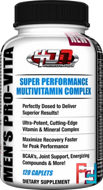 Men's Pro-Vita (Mens Sport Formula), 4 Dimension Nutrition, 120 capsules