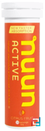Effervescent Electrolyte, Nuun, Citrus Fruit, 10 tablets