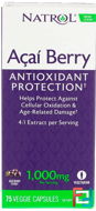 AcaiBerry, The Ultimate Super Fruit, Natrol, 75 Veggie Caps
