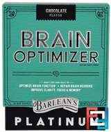 Chocolate Flavor, Barlean's, Brain Optimizer, 6.35 oz, 180 g