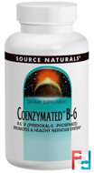 Coenzymated B-6, 300 mg, Source Naturals, 30 Tablets