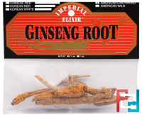 Ginseng Root, American Cultivated, Imperial Elixir, 1/2 oz