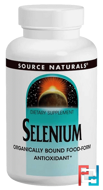 Selenium, 200 mcg, Source Naturals, 120 Tablets
