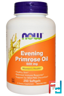 Evening Primrose Oil, Now Foods, 500 mg, 250 Softgels