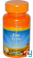 Zinc, Thompson, 50 mg, 60 Tablets