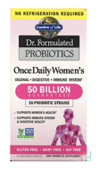Once Daily Women's, Dr. Formulated Probiotics, Garden of Life, 30 Veggie Caps