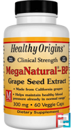 MegaNatural-BP Grape Seed Extract, Healthy Origins, 300 mg, 60 Veggie Caps