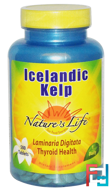 Icelandic Kelp, Nature's Life, 500 Tablets