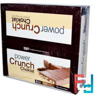 Protein Energy Bar, Choklat, Milk Chocolate, BNRG, Power Crunch, 12 Bars, 1.5 oz (42 g) Each