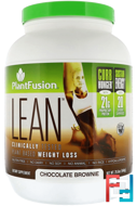 Complete Lean, Chocolate Brownie, PlantFusion, 29.6 oz, 840 g