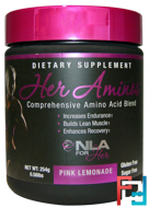 Her Aminos, NLA for Her, 254 g