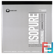IsoPure, IsoPure Protein Powder, Original, Variety, 20 Packets, Nature's Best, 3.12 oz (89 g) Each