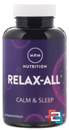 Relax-All with Venetron, MRM, 60 Vegan Capsules
