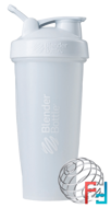 BlenderBottle, Classic With Loop, White, Sundesa, 28 oz