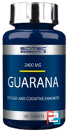 Guarana, Scitec Essentials, 100 tablets