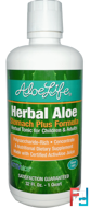 Herbal Aloe, Stomach Plus Formula, Aloe Life International, Inc, 32 fl oz (1 Quart)