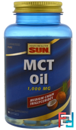 MCT Oil, Health From The Sun, 1,000 mg, 90 Softgels