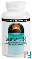 Coenzymated B-6, 100 mg, Source Naturals, 60 Tablets