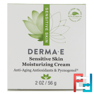 Sensitive Skin Moisturizing Cream, Derma E, 2 oz, 56 g