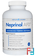 Neprinol AFD, Advanced Fibrin Defense, Arthur Andrew Medical, 500 mg, 300 Capsules