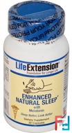 Enhanced Natural Sleep, Life Extension, 30 Capsules