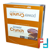 Protein Energy Bar, Peanut Butter Fudge, BNRG, Power Crunch 12 Bars, 1.4 oz (40 g) Each