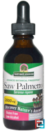 Saw Palmetto, Low Organic Alcohol, 2000 mg, Nature's Answer, 2 fl oz (60 ml)