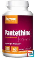 Pantethine, Jarrow Formulas, 450 mg, 60 Softgels