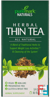 Herbal Thin Tea, Green Tea , PureMark Naturals, 30 Tea Bags, 1.9 oz, 54 g