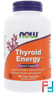 Thyroid Energy, Now Foods, 180 Veg Capsules