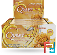 QuestBar, Protein Bar, Banana Nut Muffin, 12 Bars, 60 g
