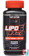 Lipo-6 RX, Nutrex Research Labs, (US), 60 Liqui-Caps