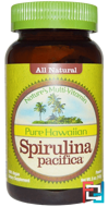 Pure Hawaiian Spirulina Pacifica, Nature's Multi-Vitamin, Powder, Nutrex Hawaii, 5 oz (142 g)