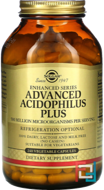 Advanced Acidophilus Plus, Solgar, 240 Vegetable Capsules