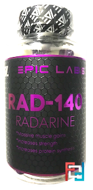 Radarine RAD-140, Epic Labs, 8 mg, 90 caps